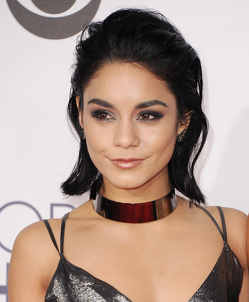 LOS ANGELES, CA - JANUARY 06: Actress Vanessa Hudgens arrives at People's Choice Awards 2016 at Microsoft Theater on January 6, 2016 in Los Angeles, California. (Photo by Jon Kopaloff/FilmMagic)